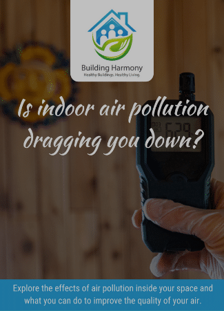 Indoor air pollution assessment guide cover page