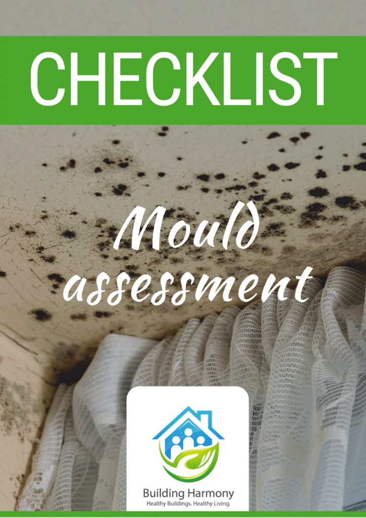 Mould assessment checklist cover page